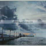 seascape landscape wall arts glass prints decor printed on paper