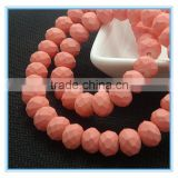 New colors 8*6mm rondelle glass beads, bead treasure                                                                         Quality Choice