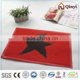 vinyl backing mat/pvc floor mat - qinyi