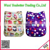 Washable and Reusable Baby Diapers One Size Minky Baby Cloth Diaper Environmental Protection Baby Nappy Cloth Diapers