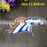 New arrival BRONCOS Football Team Sew on Patches Logo Woven label badge sign embroider Patch mark Appliques wholesale