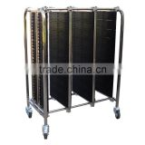 PCB ESD Transport Cart Antistatic Turnover Trolley