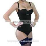 Seamless Firm Control Shapewear Open bust Bodysuit Body Shaper Black                                                                         Quality Choice