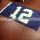 Customized Waterproof printed flags Screen Printing car flag and Full Colors UV Resistant custom flags -- DH 17634