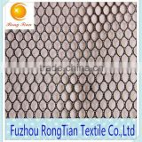 Cheap price 100 polyester tricot 60g thin mesh fabric for bags lining