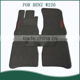 Heavy Duty 5pc Front & Rear Rubber Mats,All Weather Protection,Custom Fit Car Mats For BENZ W220