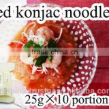 dried noodles / very delicious and healthy konjac made in Japan dry noodles Dried shirataki konjac noodles 25g x 10 portions