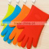 Alibaba China Wholesale Great for Kitchen Custom heat resistant silicone rubber cooking bbq grilling oven gloves 5 Fingers