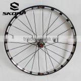 "27.5"" Carbon Alloy MTB Bike Wheelset Bicycle Disk Bike Wheel Bearings"