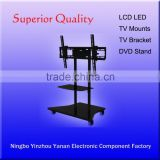 two DVD shelves with tv bracket suit for 32-to-60 inch tv screen/tv mounts
