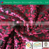 Wholesale burn out fabric manufacture KS/Korean polyester burnout velvet fabric ZJ055