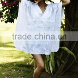 Women Summer Swimsuit Kaftan Sexy Crochet Bikini Beach Dress