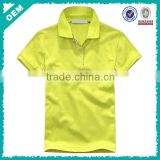 hot sale women blank t shirt for printing, polo t shirt OEM service wholesale