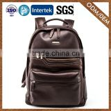 Supplier Good-Looking Newest Model stylish design 100% genuine leather backpack made
