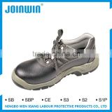 Anti-Puncture Slip Suede Leather toe cap Safety Shoes