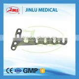 9 year no complaint titanium Distal Radius Meidal Volar Joint Locking Plate(L/R),medial distal radius plate,surgical products.