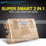 Factory price Dual band GSM LTE mobile signal repeater,3G+4G cell phone signal amplifier signal booster