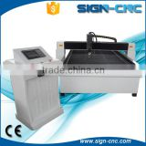 China factory supply 1500*3000mm plasma cutting table cnc plasma cutter for metal with flame