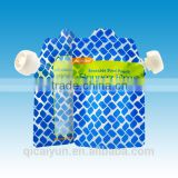 2015 Newly design customized reusable food pouch with spout for baby BPA free                                                                         Quality Choice