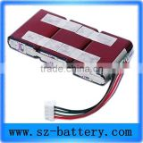 factory design 18650 li-ion 3.7v 1s6p battery pack