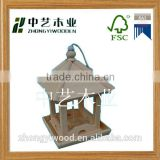 Trade assurance wooden birds cage carrier house feeder nest cheap bird houses wood carved bird houses