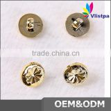 Fancy 4 holes garland plastic suit buttons for garments Suits coats metal accessories for clothing