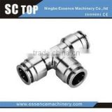 High quality pneumatic fitting push fit fitting copper material fitting pipe fitting
