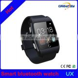 GR-UX Multifunction android bluetooth wristwatch smartphone watch with heart rate monitor/NFC /Sleep monitor for Iphone 5S/6