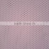 Warp knitted polyester spandex ventilate dots pattern fabric, shoe use fabric, sportswear fabric