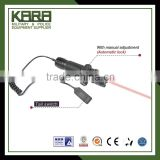 New upgrade Red tactical laser sight with manual adjustment Automatic lock include gun mount(R27)