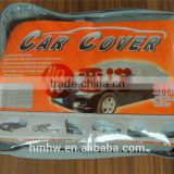 PEVA/ Polyester / non-woven dust proof and sun protection car cover with low price and fast delivery time