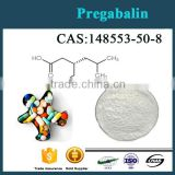Manufacture Supply Best Quantity Pregabalin CAS:148553-50-8 Powder