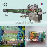 full automatic popsicle flow wrapper with CE certificated