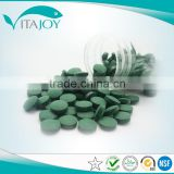 GMP certificated high quality organic chlorella tablets