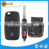 Replacement 2+1 button with switchblade and 2032 big battery place key blanks wholesale for Audi TT Q5 Q7 A6