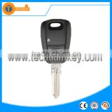 1 button auto remote key shell with uncut blade abs material with logo for fiat 500 brovo palio stilo