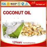 Natural Beneficial Fatty Acids Virgin Coconut Capsules, Softgels, supplement - Manufacturer, Price, OEM, Private Label