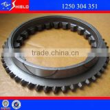 Parts of a Transmission Gear Box Synchro Cone for QJ805, QJ1205, 5S-111GP, S6-90, 5S-150GP North Benz Spare Parts 1250304351