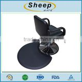 Hot sale waterproof PU anti-slip anti-fatigue barber chair mat