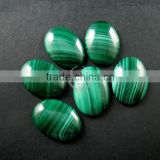 18x25mm oval peacock green malachite cabochon DIY supplies for earrings,rings,pendant charm findings 4120063