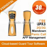 RFID GPRS GPS Security Guard Patrol Jobs with Personal Protection and Voice Communication
