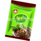 Halal pure beef/chicken/seafood flavor seasoning powder of instant noodle