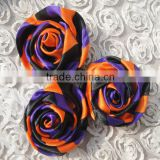 "Factory direct 2.3"" (6cm) satin rose flower ribbon halloween decorative flower Festive & Party Supplies"