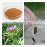 Natural Water Soluble Silymarin Milk Thistle Extract Silybin