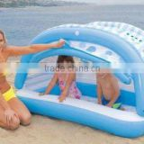 pvc pool cartoon with 3rings/swimming pool for/baby/ kids/adults/inflatable water/beach pool