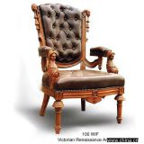 Inquiry about Victorian Renaissance Arm Chair