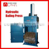 Hot sale!Hydraulic cotton bale press machine/hydraulic press packing machine/bale packing machine
