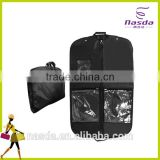 pvc non-woven fabric garment bag,black garment suit bag for dress shirt,personalised garment bag with logo