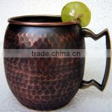 MANUFACTURER OF HAMMERED Lacquered Zaranoff COPPER MUGS