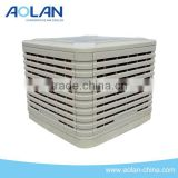 Evaporative room air conditioner for cooling only